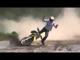 Crazy Slow Mo Motocross CRASH MUST SEE