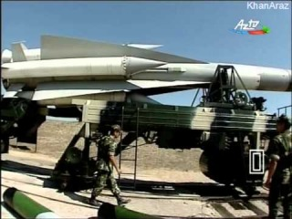 Azerbaijan's S-200 Air Defence Missiles at positions