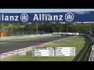 GP3 2012. Этап 6. Венгрия. Гонка 1.