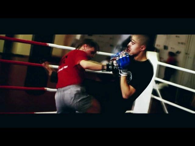 Тренировки моего тренера по боям без правил М-1 Никиты Кулигина