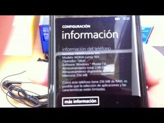 Распаковка Nokia Lumia 505