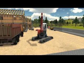 Bau-Simulator 2012 - Release-Trailer - IchSpiele.cc