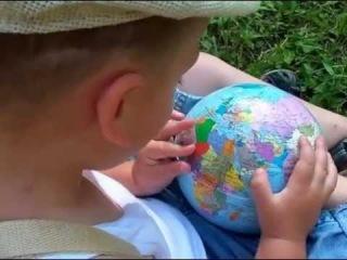 • Ребенок - гений в 3 года знает ВСЮ карту мира!