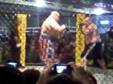 Butterbean Knockout of some guy in a barn fight