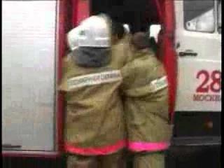 Прикол про службу в пожарной охране.flv