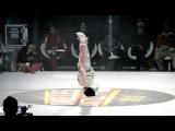 Танец 6-ти летней девочки в брейк-данс