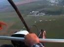 Letenje Aca pilotira Bane snima