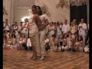 Prague Tango Alchemie 2010 - White milonga - Cristian Duarte & Lilach Mor 2