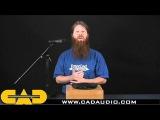 CAD C195 Профессиональный конденсаторный вокальный микрофон. Стоимость аренды 500 р.