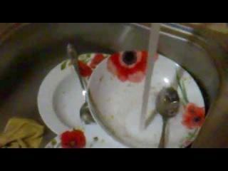Как Помыть Посуду За Одну Секунду