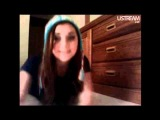 Alyson Stoner Ustream/ Live Chat