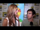 Alyson Stoner Vincent Martella Chat Phineas Ferb at 2012 Comic-Con