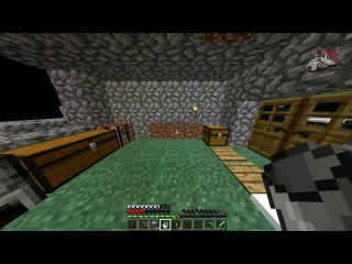 Minecraft - Flying Island |Survival| #4 Кирку то...СДЕЛАЛИ!!!111