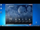 Приложение погоды Weather в Windows 8