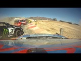 Tanner Foust wins Rallycross Supercars A final in Portugal 2011 with the Rockstar Fiesta  HD