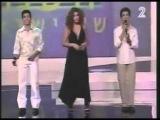 Harel Skaat, Harel Moyal &amp Adi Cohen in 2004 Israeli songs