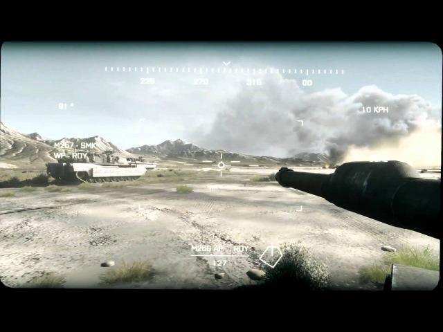 Battlefield 3 - Thunder Run геймплей E3 2011
