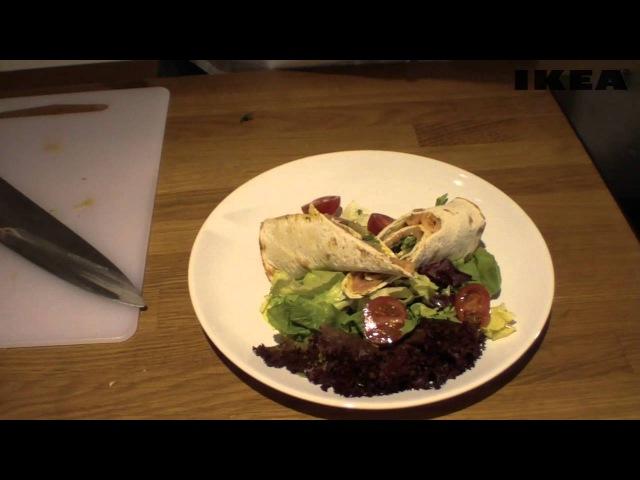 Gotuj z IKEA 2. - Roladki z łososiem marynowanym sok z czarnego bzu