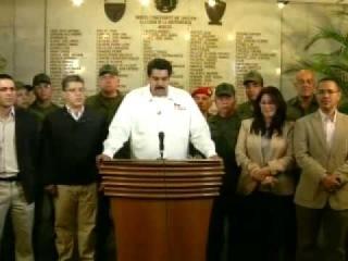 Falleció el Presidente Hugo Chávez - Официальное объявление о смерти Чавеса