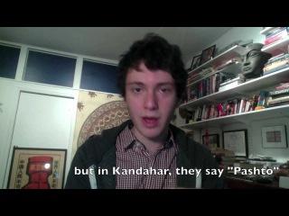 Tim Speaks Pashto/ټیم په پښتو خبری کوی