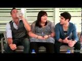 LiveChat with Darren Criss, Mark Salling & Ashley Fink - ChrisCriss