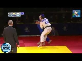 Semifinal -66kg URIARTE Sugoi (ESP) - MOGUSHKOV Musa (RUS) ECCO Judo Hero Challenge Tyumen 2012