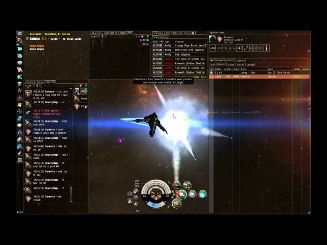 Eve Online - 70min of Hookbill PvP in 23 min