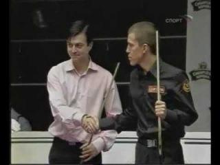 Евгений Сталев - Ива Арчвадзе, финал осеннего турнира 2005, русский бильярд
