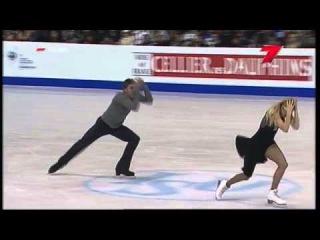 Екатерина Боброва и Дмитрий Соловьёв. Чемпионат Европы в Загребе