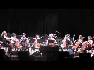 Coldplay - VIVA LA VIDA - Cello octet cover