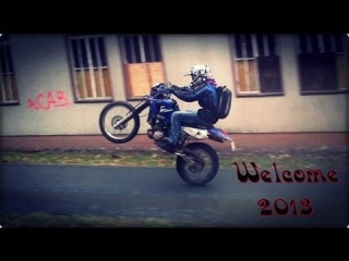 Welcome 2013   with Yamaha DT 125 R   MZ SM 125 & Mofa Power !