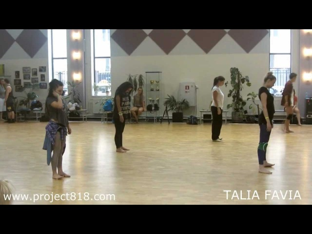 ★PROJECT818 TALIA FAVIA CONTEMPORARY JAZZ MASTER CLASSES IN MOSCOW★