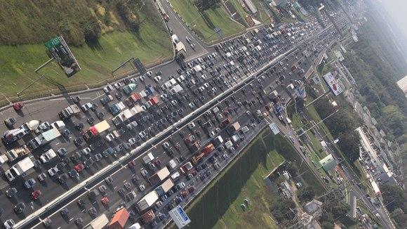 Дальнобойщики устроят пробки на подъезде к Москве