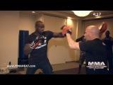 UFC Heavyweight Cheick Kongo Trains Muay Thai, Boxing + Jiu Jitsu: Complete 1-Hour Workout