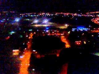 Посадка в ночной Иркутск на самолете A320