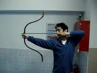 Thumb release shooting with Turkish Bow - Adnan