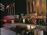 1992 Clinton Gala We Are The World - Michael Jackson, Diana Ross, Stevie Wonder, Bill Clinton, Dionne Warwick, Cyndi Lauper, Ken