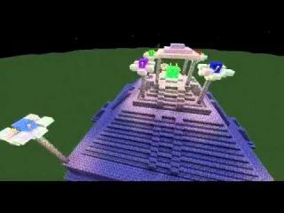 Крепость семи изумрудов Хаоса из анимэ Соник Х
