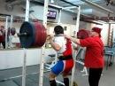 Back squat 594 lb Приседания 235 - 270 кг. беэ экипы. sportstudio