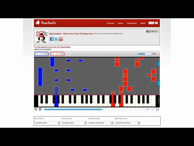 How to Play Don't Leave Me (Ne Me Quitte Pas) by Regina Spektor - Piano Tutorial