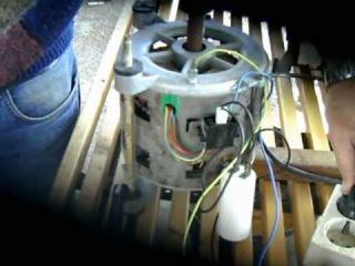 Cómo conectar el motor de una  lavadora,conexión directa sin programador .