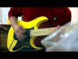 Teste - Guitarra Ibanez RG 350 MZ YE + Vox AD30VT