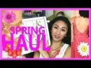 SPRING CLOTHING HAUL! DRESSES, SHOES, PJS, HM, LBB, TJMAXX, DAILYLOOK - AprilAthena7