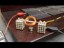 Solar Powered Buckyballs Motor