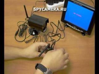 Беспроводной комплект видеокамера + регистратор