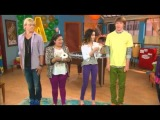Olivia Holt (Girl Vs. Monster) Monstober Shriek-Tacular Stopby With Austin & Ally Cast