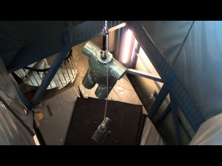 GOBLIN Fall Arrester - Dynamic test on loaded rope UPDATED