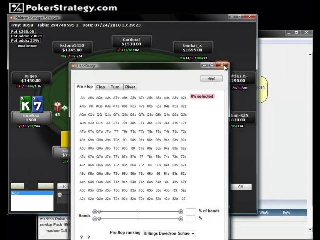Видео SNG турниры DON 10 Restealing на примере рук пользователя ru RoyalHope blind defence nuwkax 06082010