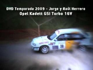 Intro DVD 2009 Hermanos Herrero - Opel Kadett GSI 16v turbo