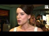 Michelle Ryan Interview - The Man Inside UK Premiere